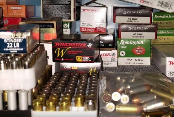 Ammo and firearms