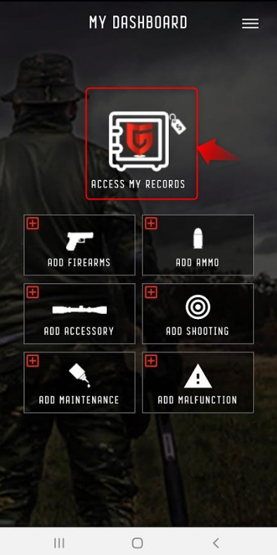 Access My Records GUNTRACK